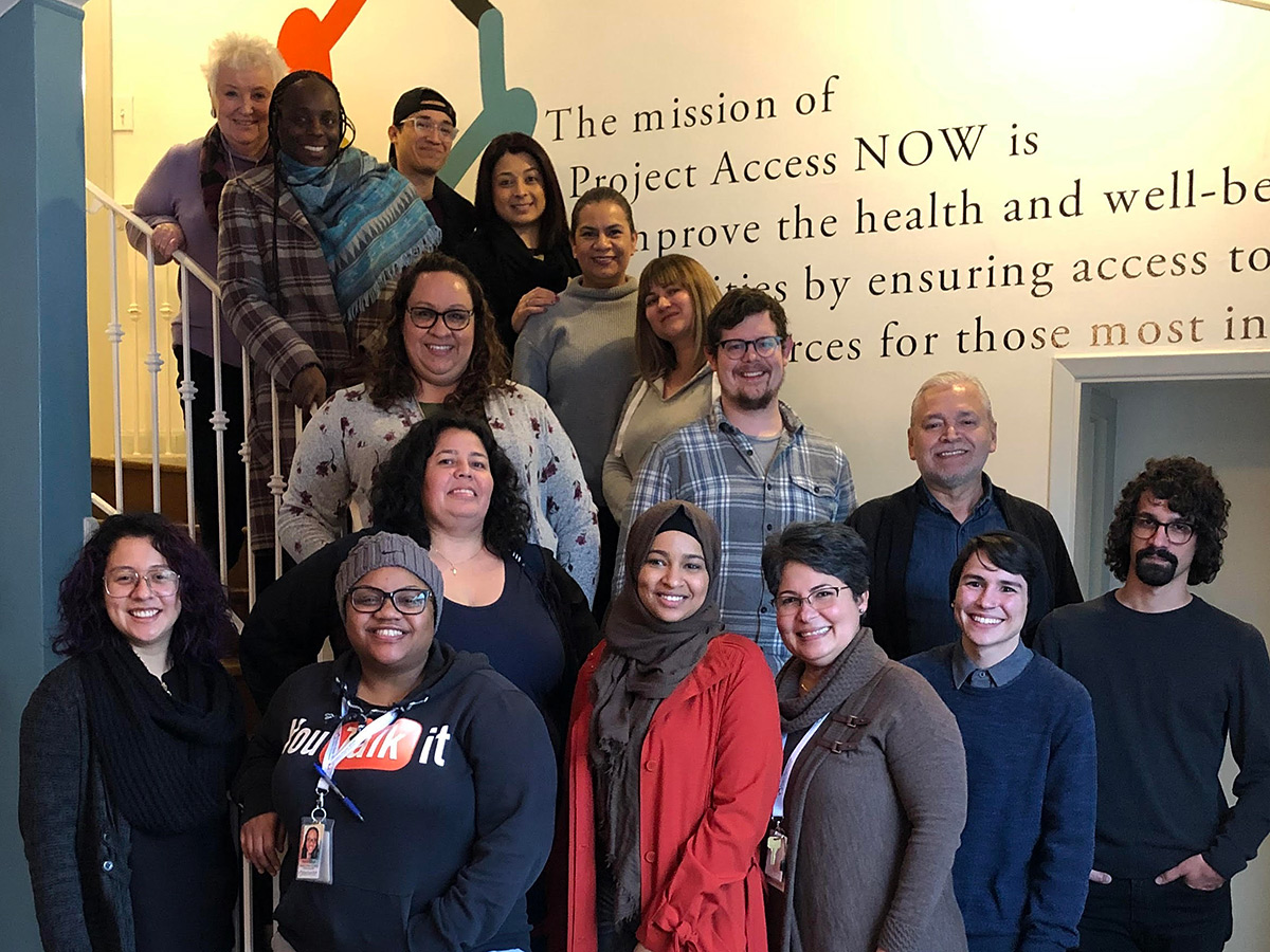 2019 Outreach, Enrollment, and Access Team